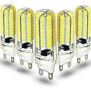 ieftine Becuri LED Bi-pin-5pcs 3.5 W Becuri LED Bi-pin 400 lm G9 64 LED-uri de margele SMD 2835 Decorativ Încântător Alb Cald Alb Rece 220-240 V 110-130 V