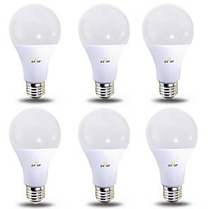 ieftine Becuri LED Glob-EXUP® 6pcs 12 W Bulb LED Glob 1180 lm B22 E26 / E27 28 LED-uri de margele SMD 2835 Alb Cald Alb Rece 220-240 V 110-130 V