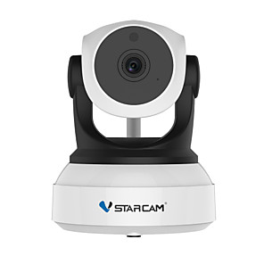 ieftine Camere IP-vstarcam c7824wip p2p hd wireless wifi ip camera de viziune de noapte cu două căi de voce voce interioară cctv monitor pentru bebeluși telefon mobil monitorizare la distanță