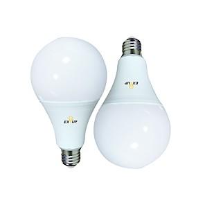 ieftine Audio & Video-EXUP® 2pcs 24 W Bulb LED Glob 2160 lm B22 E26 / E27 A95 70 LED-uri de margele SMD 2835 Alb Cald Alb Rece 220-240 V 110-130 V
