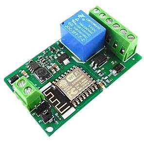 ieftine Conectoare & Terminale-Modul releu pentru controlul modulului releului modulului de relee esp8266
