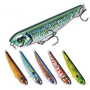 ieftine Momeală Pescuit-6 pcs Δόλωμα Momeală Dură Creion Generic Scufundare Bass Păstrăv Ştiucă Pescuit mare Momeală pescuit Pescuit cu undițe tractate & Pescuit din barcă Plastic