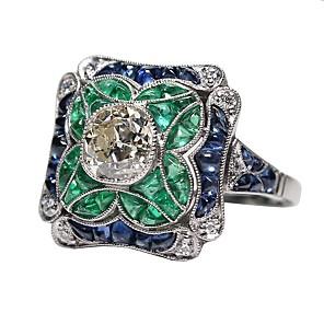 ieftine Produse Fard-Pentru femei Inel de logodna degetul mare 1 buc Verde Deschis Aliaj Elizabeth Locke Zi de Naștere Cadou Bijuterii Artizan Încântător