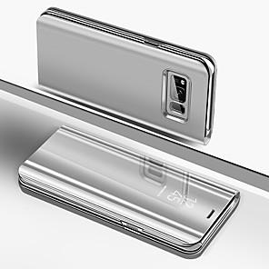 povoljno Maske/futrole za Galaxy S seriju-Θήκη Za Samsung Galaxy Galaxy S10 / Galaxy S10 Plus / Galaxy S10 E Pozlata / Zrcalo / Zaokret Korice Jednobojni Tvrdo Silikon