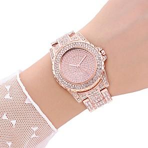ieftine Inel Ceas-Pentru femei Ceas Elegant Ceas de Mână Quartz Casual Ceas Casual Analog Auriu Roz auriu Argintiu