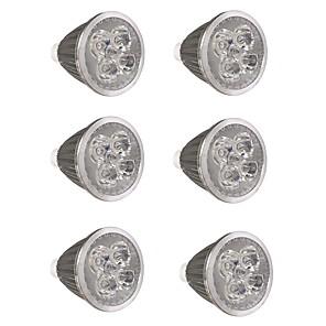 ieftine Becuri LED Glob-6pcs 5 W Spoturi LED 500 lm GU10 GU10 5 LED-uri de margele LED Putere Mare Petrecere Decorativ Crăciun decor de nunta Alb Cald Alb Rece 85-265 V / RoHs