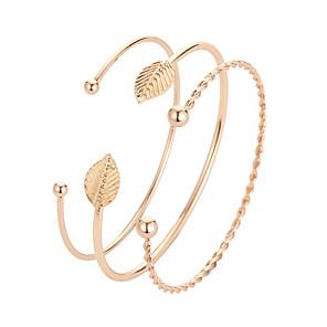 ieftine Brățări-Pentru femei Brățări Bantă Clasic Stilat Corean Aliaj Bijuterii brățară Auriu Pentru Zilnic