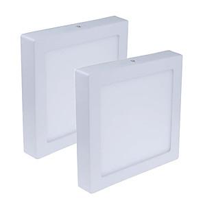 ieftine Lumini de Panou-JIAWEN 2pcs 12 W 960 lm 60 LED-uri de margele Ușor de Instalat Lumini Panel Alb Cald Alb Rece 85-265 V