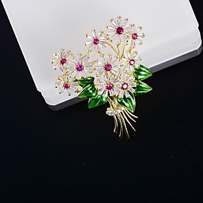 זול סיכות-בגדי ריקוד נשים זירקונה מעוקבת תפס לשיער מסוגנן סִכָּה תכשיטים זהב עבור חתונה ארוסים מתנה רחוב משרד קריירה
