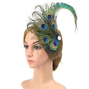 ieftine Bijuterii de Păr-Pentru femei Fascinators Pentru Bal Prinţesă Material Textil Trifoi