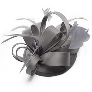 ieftine Bijuterii de Păr-Pentru femei Fascinators Pentru Bal Prinţesă Roșu Vin Mov Roșu-aprins