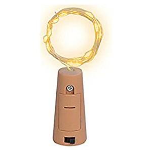 ieftine Fâșii Becurie LED-0,75 m Fâșii de Iluminat 15 LED-uri SMD 0603 1 buc Alb Cald / Alb / Multicolor Crăciun decor de nunta Baterii alimentate / IP65
