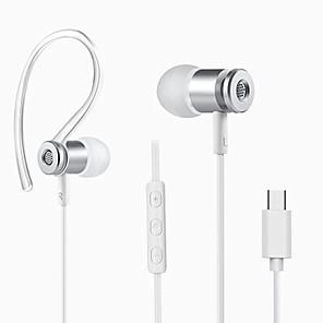 ieftine Kulaklık Aksesuarları-LITBest Cablu de intrare în ureche Cablu Stereo Cu Microfon Cu controlul volumului Confortabil Telefon mobil