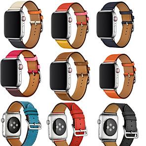 ieftine Imbracaminte & Accesorii Căței-Uita-Band pentru Apple Watch Series 5/4/3/2/1 Apple Curea din piele Piele Autentică Curea de Încheietură
