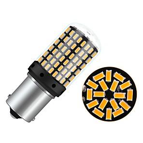 ieftine Car Signal Lights-1pcs BA15S(1156) / P21W Mașină Becuri 4 W SMD 3014 450 lm 144 LED Bec Semnalizare Pentru Παγκόσμιο Toți Anii