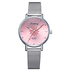 ieftine Cuarț ceasuri-Pentru femei Quartz Piața de ceas Quartz Stl Argint Ceas Casual Analog Casual Modă - Negru Roz Îmbujorat Piersică Un an Durată de Viaţă Baterie