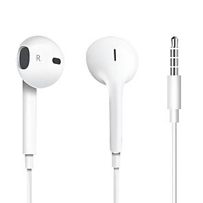 ราคาถูก เคสและซองสำหรับ Xiaomi-LITBest 3.5mm หูฟังชนิดใส่ในหูแบบมีสาย สาย Stereo พร้อมไมโครโฟน ด้วยการควบคุมระดับเสียง โทรศัพท์มือถือ