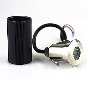 ieftine Aplice de Exterior-ONDENN 1 buc 1 W Lumini Subacvatice / Lumini de gazon Rezistent la apă / Decorativ Alb Cald / Alb Rece / Roșu 85-265 V / 12 V Lumina Exterior / Piscina / Curte 1 LED-uri de margele