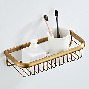 ieftine Gadget Baie-baie raft moderne moderne alamă 1pc - baie montat pe perete montat
