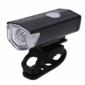 ieftine Lumini de Bicicletă-LED Lumini de Bicicletă Iluminat Bicicletă Față Becul farurilor XP-G2 Ciclism montan Bicicletă Ciclism Rezistent la apă Moduri multiple Portabil Ușor de Instalat Li-polymer 300 lm Baterie / ABS
