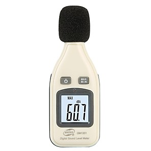 povoljno Huawei slučaj tableta-digitalni mjerač razine zvuka šum zvuka decibelimetro 30-130dba noisemete decibel buka decibel monitor tester gm1351