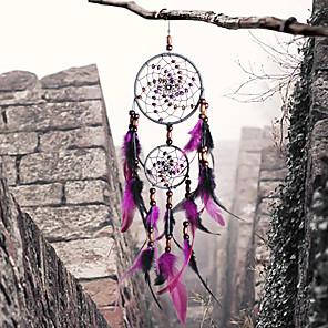 povoljno Zidni ukrasi-ručno izrađene san lovci s perom zid vješanje home ukras ornament dekor ukras