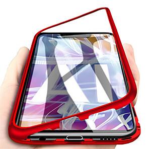 ieftine Carcase / Huse de Huawei-Maska Pentru Huawei Huawei Mate 20 lite / Huawei Mate 20 pro / Huawei Mate 20 Magnetic Carcasă Telefon Mată Greu Sticlă Temperată