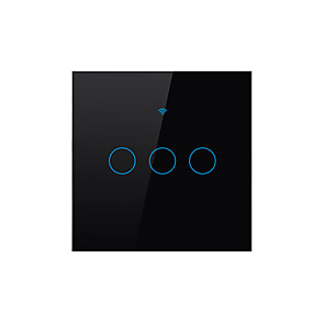 ieftine Switch inteligent-SESOO Switch inteligent pentru Zilnic / Sufragerie / Dormitor Rezistent la Apă / Smart / Controlul APP WIFI 100-240 V