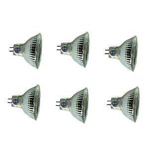 ieftine Faruri de Mașină-6pcs 3 W Spoturi LED 200 lm MR16 MR16 12 LED-uri de margele SMD Decorativ Crăciun decor de nunta Alb Cald Alb Rece 12 V / RoHs