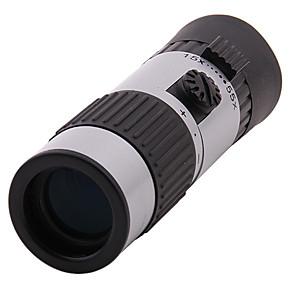 ราคาถูก กล้องส่องทางไกล-15-55 X 21 mm Monocular ตัวต่อกำลังไฟสูง การเคลือบหลายชนิดอย่างสมบูรณ์ การล่าสัตว์ แคมป์ปิ้ง / การปีนเขา / เที่ยวถ้ำ กลางแจ้ง ยาง อลูมิเนียมอัลลอยด์ / ใช่