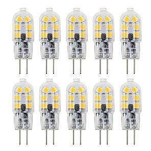 ieftine Becuri LED Bi-pin-10pcs 3 W Becuri LED Bi-pin 200-300 lm G4 T 12 LED-uri de margele SMD 2835 Încântător 12 V