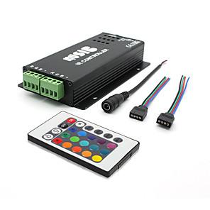 ieftine Manete RGB-zzzm dc12-24v comun anod ir două benzi 24key rgb led controler de la distanță (nu se poate conecta audio)