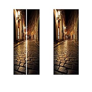 ieftine Decor de Perete-Faimos / Peisaj Perete Postituri 3D Acțibilduri de Perete Etichete pentru autovehicule, PVC Pagina de decorare de perete Decal Perete Decor 2pcs / Detașabil
