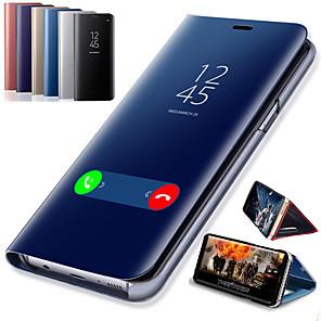 Недорогие Чехлы и кейсы для Galaxy S6 Edge-смарт-зеркало флип чехол для телефона для samsung galaxy s10e крышка ясно вид кожи зеркало для samsung s10 e s10 plus чехол