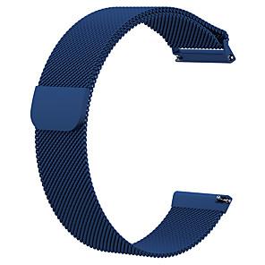 olcso Kijelző port-Nézd Band mert Fitbit Versa / Fitbit Versa Lite FitBit Milánói hurok Rozsdamentes acél Csuklópánt