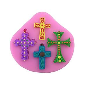 ieftine Frontale-1 buc silicagel Crăciun Reparații Pâine Tort Ciocolatiu Materiale pentru torturi Unelte de Copt & Patiserie Instrumente de coacere