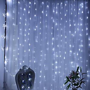 Недорогие Чехол Samsung-3M Гирлянды 300 светодиоды 1шт Тёплый белый RGB Белый Творчество Новый дизайн Для вечеринок 220-240 V 110-120 V
