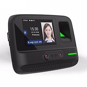 ieftine Switch inteligent-5YOA AF4 Mașină de prezență Cameră Foto / Înregistrați interogarea amprentă digitală / Parola / Faţă Școală / Hotel / Birou