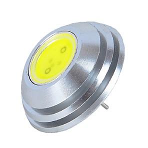 ieftine LED-uri-1 buc 3 W Becuri LED Bi-pin 550 lm G4 MR16 1 LED-uri de margele COB Alb Cald Alb 12 V / RoHs