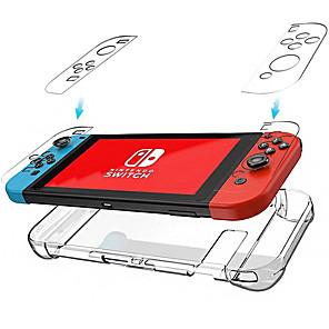 ieftine Accesorii Nintendo Switch-cooho nintendo comutator transparent cristal caz gazdă mâner caz de protecție ns caz transparent PC