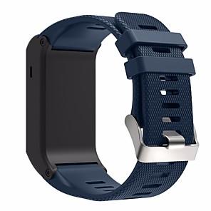hesapli Garmin İçin Saat Kordonları-Watch Band için Vivoactive HR Garmin Spor Bantları / DIY Aletler Silikon Bilek Askısı
