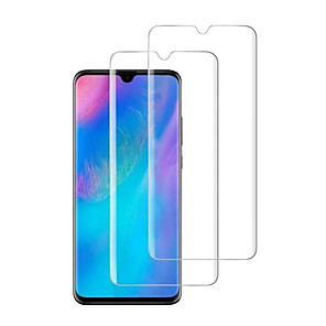 cheap Huawei Screen Protectors-HuaweiScreen ProtectorHuawei P30 High Definition (HD) Front Screen Protector 2 pcs Tempered Glass