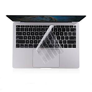 ieftine Ecrane Protecție Tabletă-xskn® tastatură ultra subțire tastatură pentru 2018 mai târziu noi macbook aer 13.3 clar tastatura tastatura laptop piele de protecție filmul noi layout