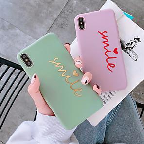 ieftine Carcase iPhone-caz pentru Apple iphone xr / iphone xs max model spate cover cuvânt / frază soft tpu pentru iphone 6 6 plus 6s 6splus 7 8 7plus 8plus x xs xr xsmax