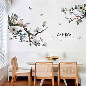 povoljno Zidni ukrasi-novi kineski tinta i ptica dnevni boravak spavaća soba pozadina samoljepljive TV pozadine zidne dekoracije hodnik trijem zidne naljepnice