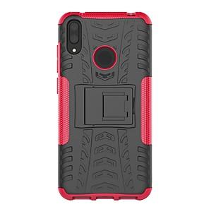ieftine Walkie Talkies-Maska Pentru Huawei Huawei P Smart 2019 / Y9 (2018)(Enjoy 8 Plus) / Huawei Y7 Pro (2019) Anti Șoc / Cu Stand Capac Spate armură Greu PC