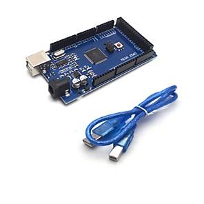 Недорогие Чехлы и кейсы для Galaxy S3-мега 2560 r3 плата atmega2560-16au ch340g USB-кабель для Arduino
