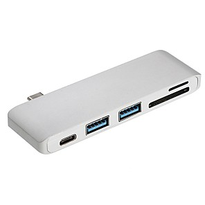 "povoljno MacBook Pro 15"" maske-OTG / Tip-C Τροφοδοτικό / Kabel <1m / 3ft All-in-1 / OTG Plastika i metal / ABS + PC USB kabelski adapter Za Macbook"