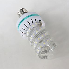 ieftine Becuri LED Corn-1 buc 7 W Becuri LED Corn 310-410 lm E26 / E27 36 LED-uri de margele Alb Rece 85-265 V