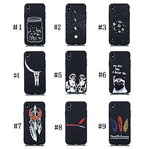 povoljno Maske/futrole za Huawei-Θήκη Za Huawei Huawei P20 / Huawei P20 Pro / Huawei P20 lite Mutno / Uzorak Stražnja maska Pas / Riječ / izreka / nebo Mekano TPU